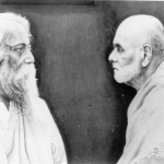 Tagore with guru